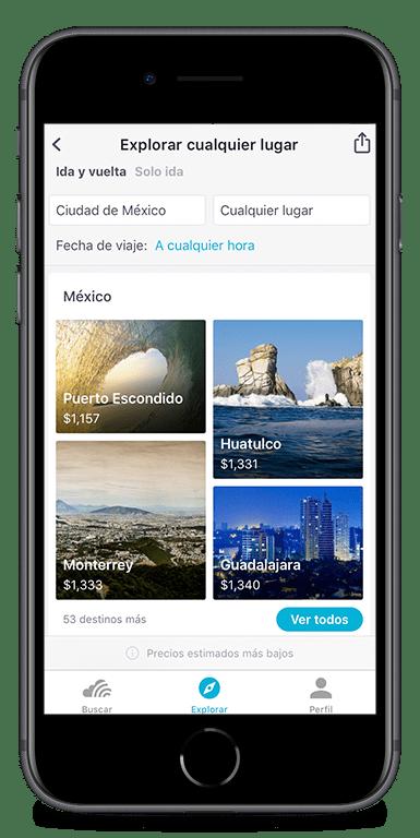 Skyscanner flights app top offers