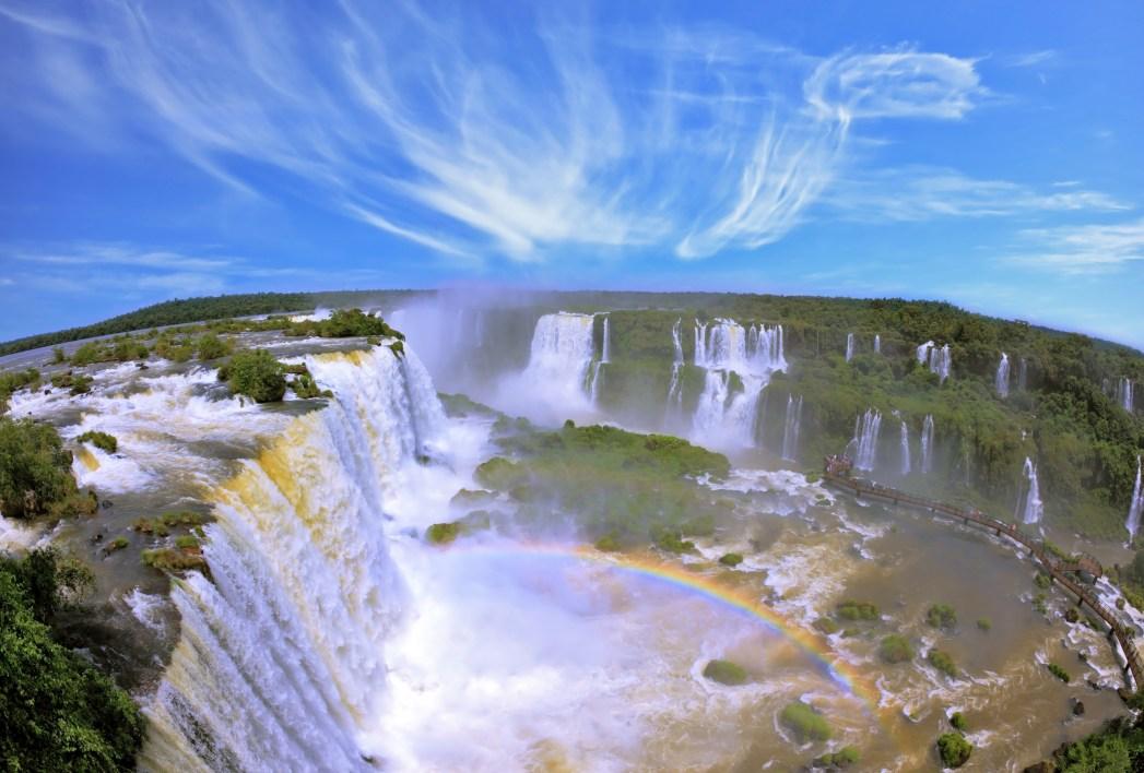 Vista panorámica Cataratas Iguazú
