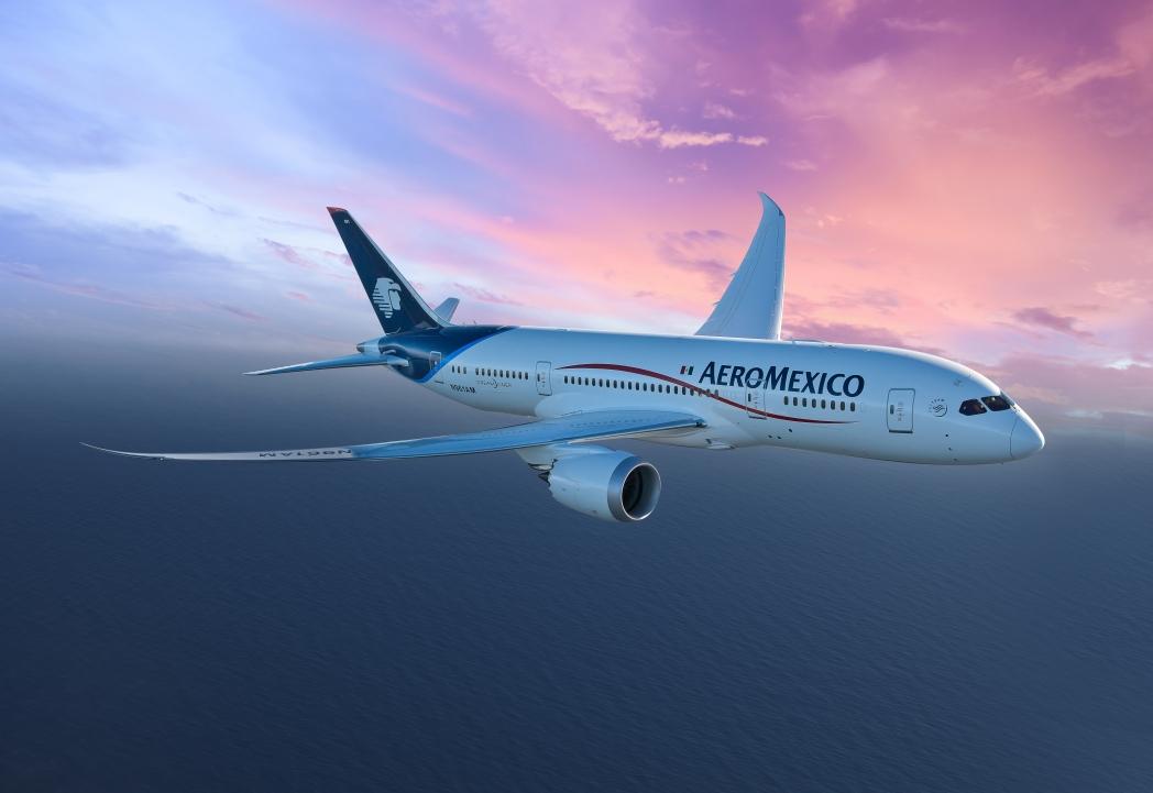 avion, aeroméxico, 787, dreamliner