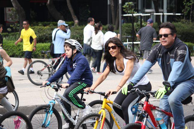 bike, Reforma, Mexico, Mexico City