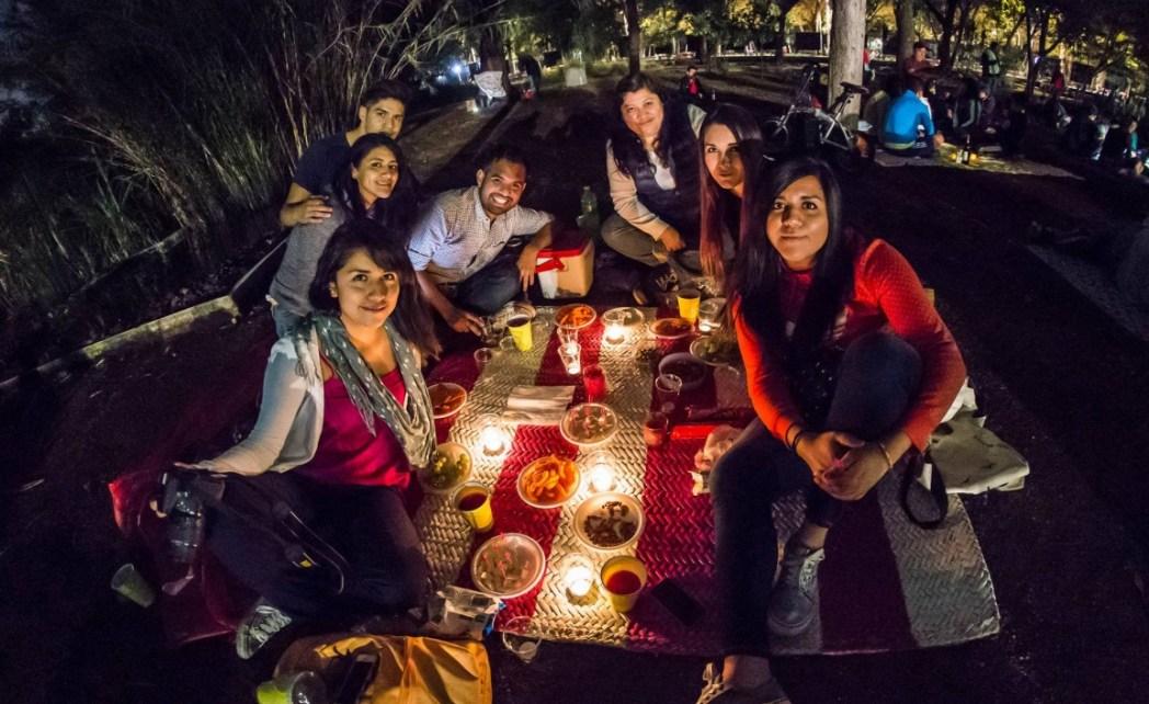 picnic, Mexico, Mexico city, Chapultepec