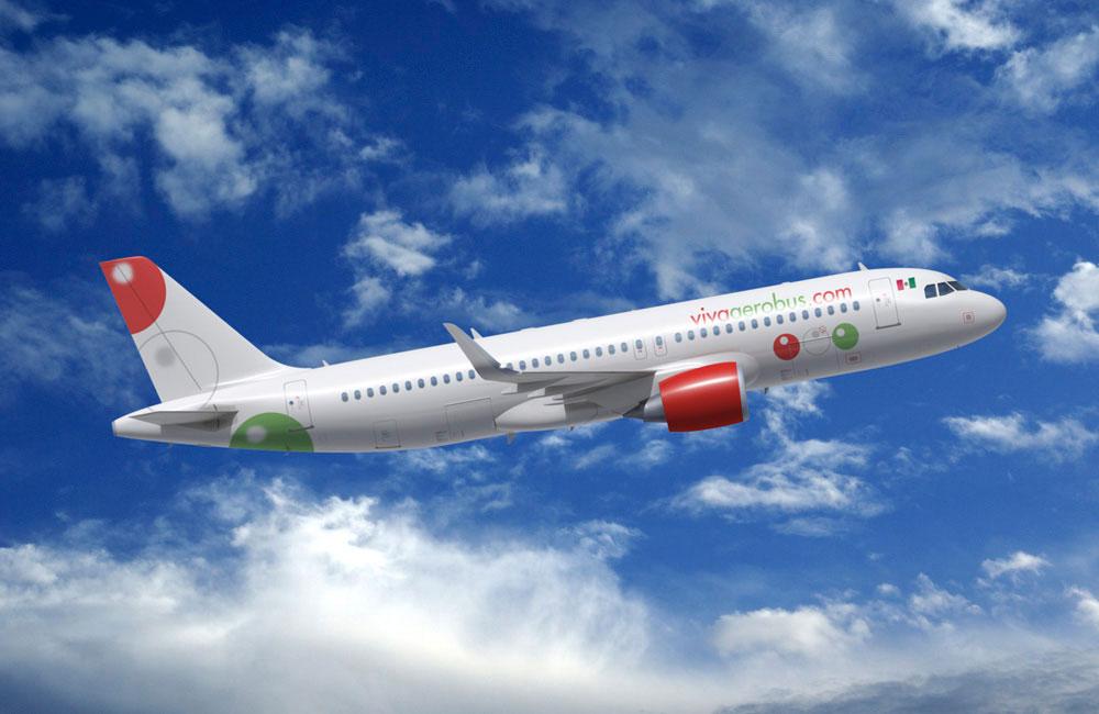 Viva Aerobus, plane, mexican airline, mexico