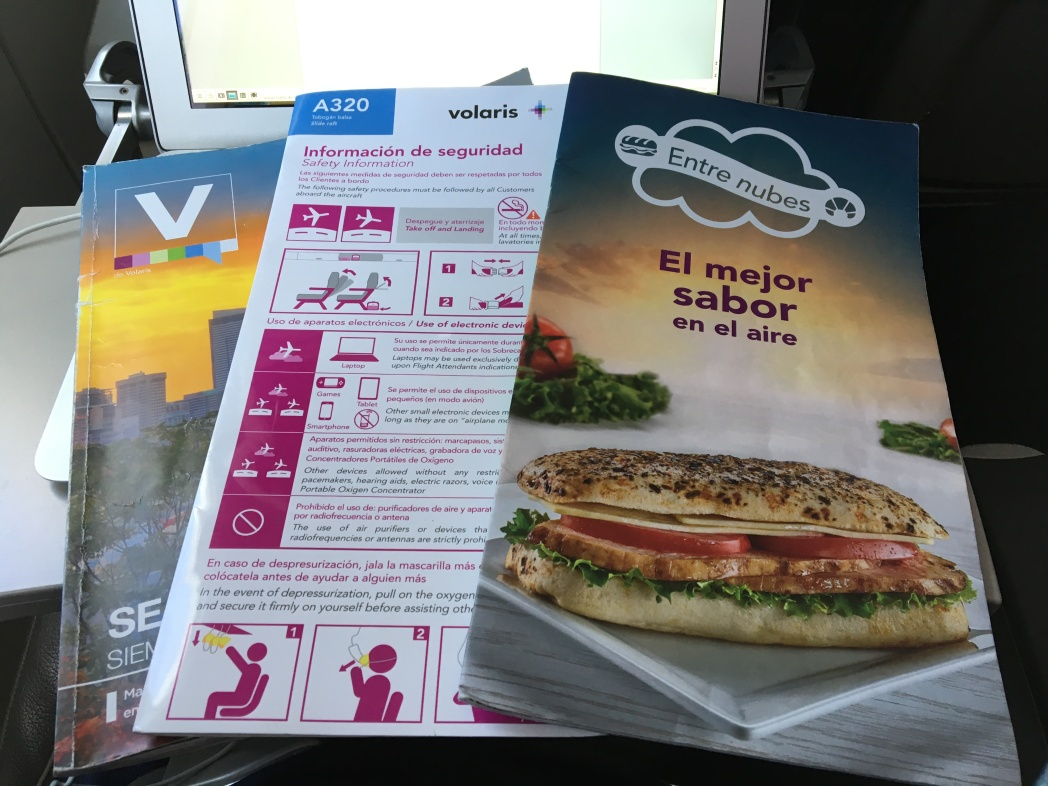 service on board, volaris, extra charge