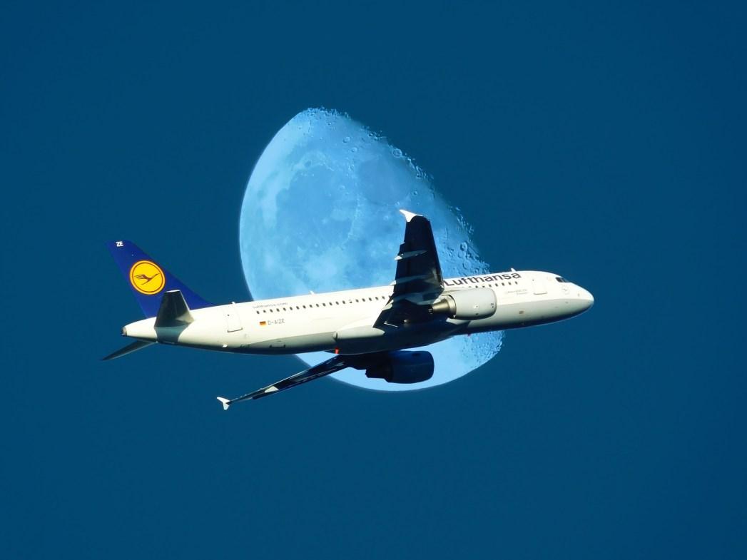 volar, noche, nocturno, vuelo, avión